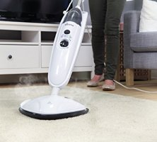 Picture of the Holme Steam Mop on a carpet