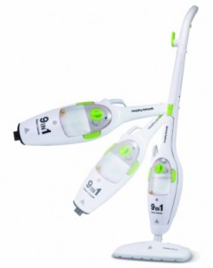Picture of the Morphy Richards 9 in 1 steam cleaner